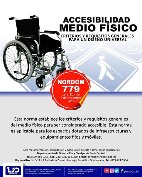 NORDOM-779 Accesilidad medio físico