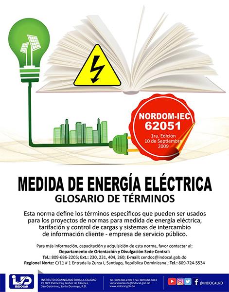 NORDOM-IEC-62051 MEDIDA DE ENERGÍA ELÉCTRICA
